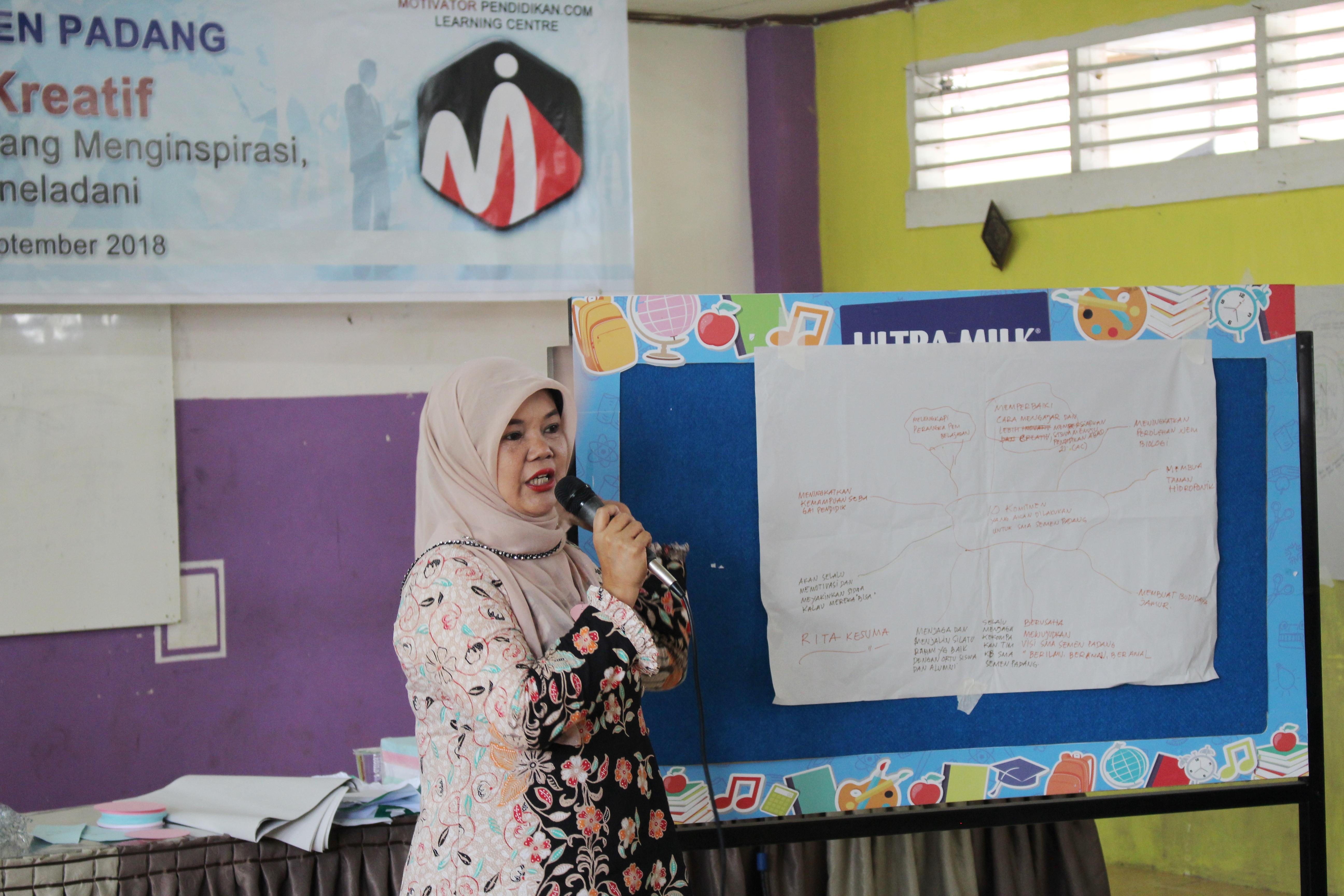 Motivasi Guru Kreatif SMA Semen Padang